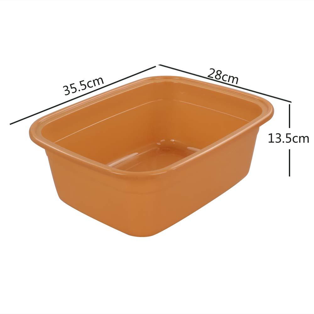 Bacinella per Lavare Bucato Bacinella Piccola Gitany Bacinella Bucato in Plastica Set di 4