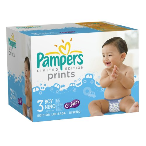 pampers cruisers size 1 - 6