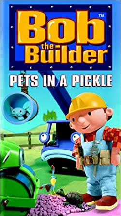 amazon co jp bob the builder pets in a pickle vhs import