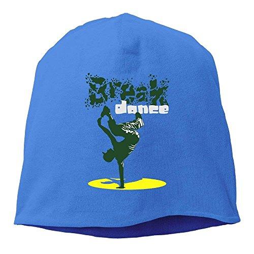 klbpw Talla única Real de Azul Punto Gorro Azul Hombre para r8Br1q
