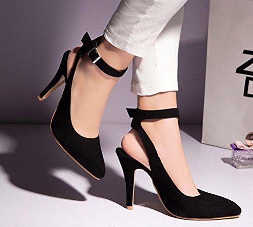 Nero Caviglia Aperte Nero Donna HiTime 35 sulla qaZwzWfR