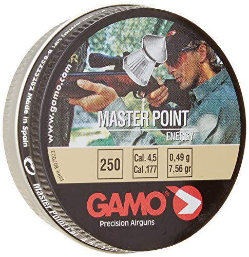 Master Point Pellets - Gamo Master Point .177 Cal, 7.87 Grains, Pointed, 250ct