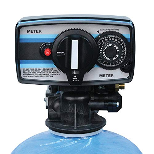 - Fleck 5600 Metered Water Softener On Demand Control Head Valve