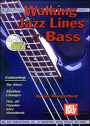 Mel Bay Walking Jazz Lines for Bass