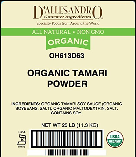 Organic Tamari Powder, 25 Lb Bag