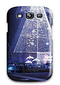Fashionable Style Case Cover Skin For Galaxy S3- Holiday Christmas by icecream design