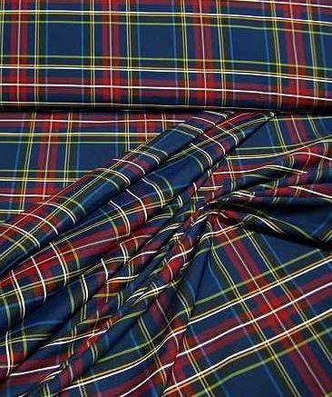 Ligero, pantalones a cuadros - y disfraz de tela azul marino, rojo ...