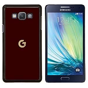 EJOOY---Cubierta de la caja de protección para la piel dura ** Samsung Galaxy A7 A7000 ** --Estilo G