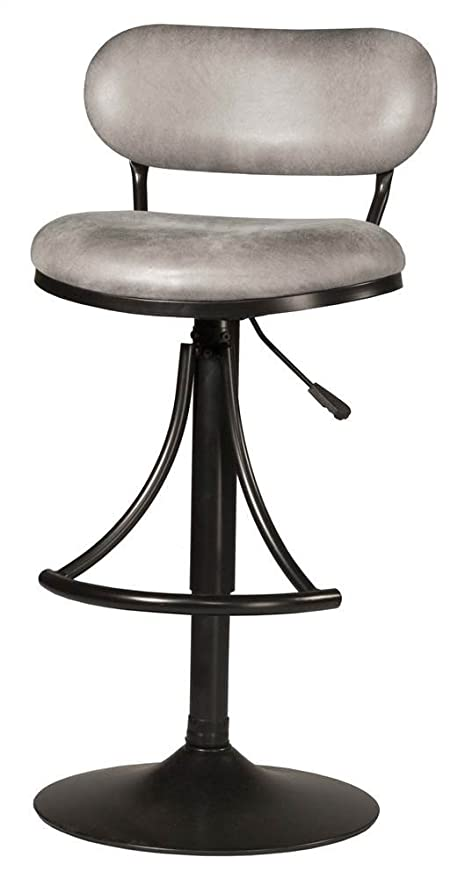 ab92e42f0093a2 Image Unavailable. Image not available for. Color: Hillsdale Furniture  Swivel Metal Barstool in Black Finish
