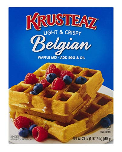 Krusteaz Light Crispy Belgian