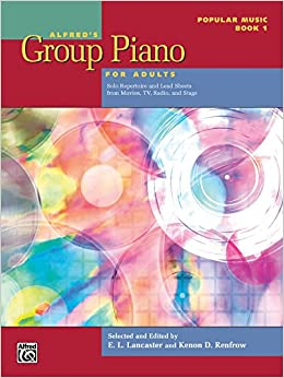 Alfred S Group Piano For Adults Popular Music Bk 1 Solo