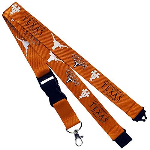 Jenkins Enterprises Texas Longhorns Keychain/Badge Holder ()