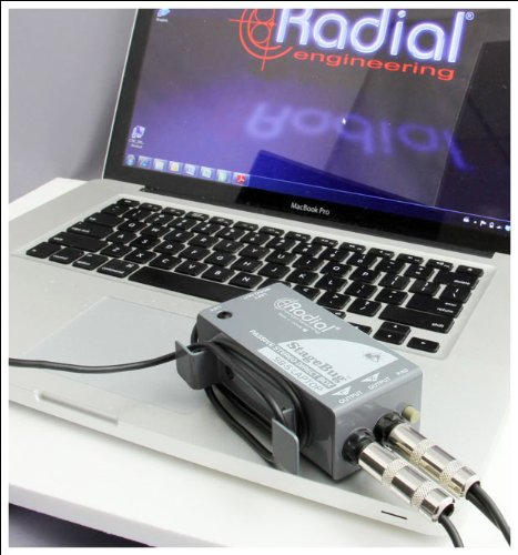Radial StageBug SB-5 1-channel Passive Laptop Direct Box by Radial