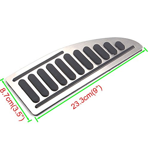 Buildent Auto Foot Rest Pedal Pad Anti-skid Styling Car Accessories For Ford Focus MK2 MK3 Fiesta MK7 Mondeo MK4 S-Max C-Max Escape Kuga by Buildent (Image #5)