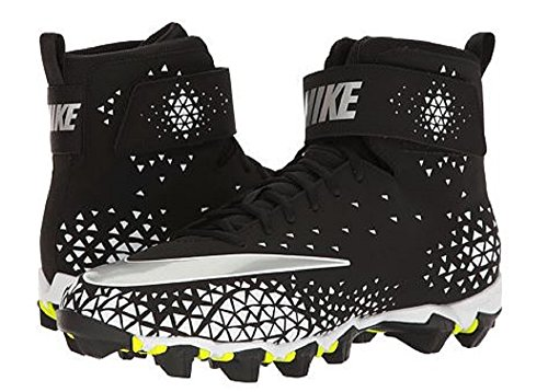 NIKE Men's Force Savage Shark Football Cleat Black/Metallic Silver/White cheap sale 2015 new extremely cheap price for sale for sale yoTiOSj