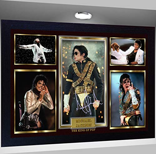- S&E DESING Michael Jackson Framed Photo Print Poster