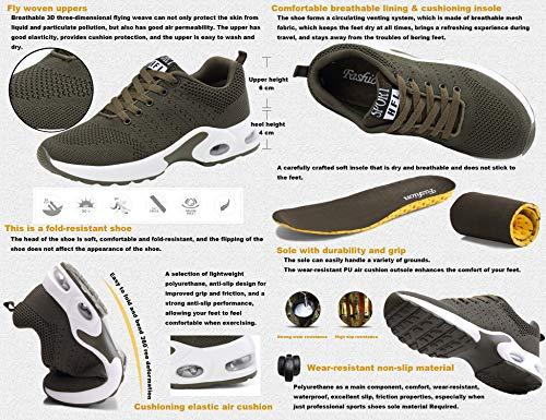 Verde GNEDIAE Running y Transpirable Zapatos Malla 002 Zapatillas y Deportivas de Aire Mujer para Casuales Montaña Asfalto Deportes Senderismo Libre Correr rTrqZfR7wg