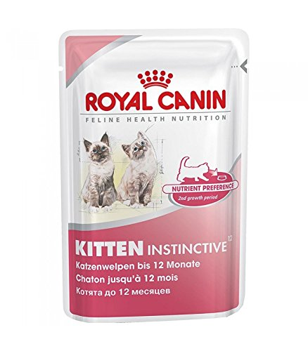 Royal Canin Comida para gatos Kitten Instinctive 85 Gr: Amazon.es: Productos para mascotas