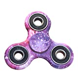 Sungpunet Tri-spinner New Style Cool Finger Spinner Toy Stress Reducer Hand Spinner Toy Anti-anxiety with Ceramic Bearing for ADD ADHD Autism Adult Children