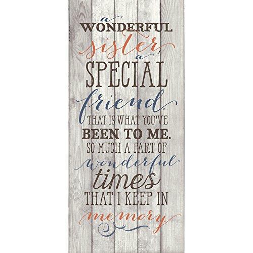 Dexsa New Sister, A Special Friend...New Horizons Wood Plaque -