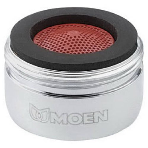 Moen 3919 2.2 GPM Male Thread Kitchen Faucet Aerator, Chrome