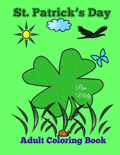 St. Patrick's Day: Adult Coloring Book