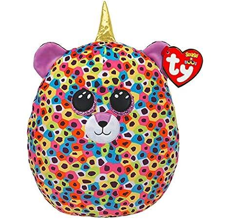 Ty- Squish a Boos-cojín Giselle El Leopardo 40 cm, Multicolor: Amazon.es: Juguetes y juegos