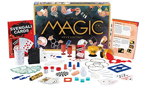 Thames & Kosmos Magic: Onyx Edition Playset with 200 Tricks (Onyx Rope Ring)