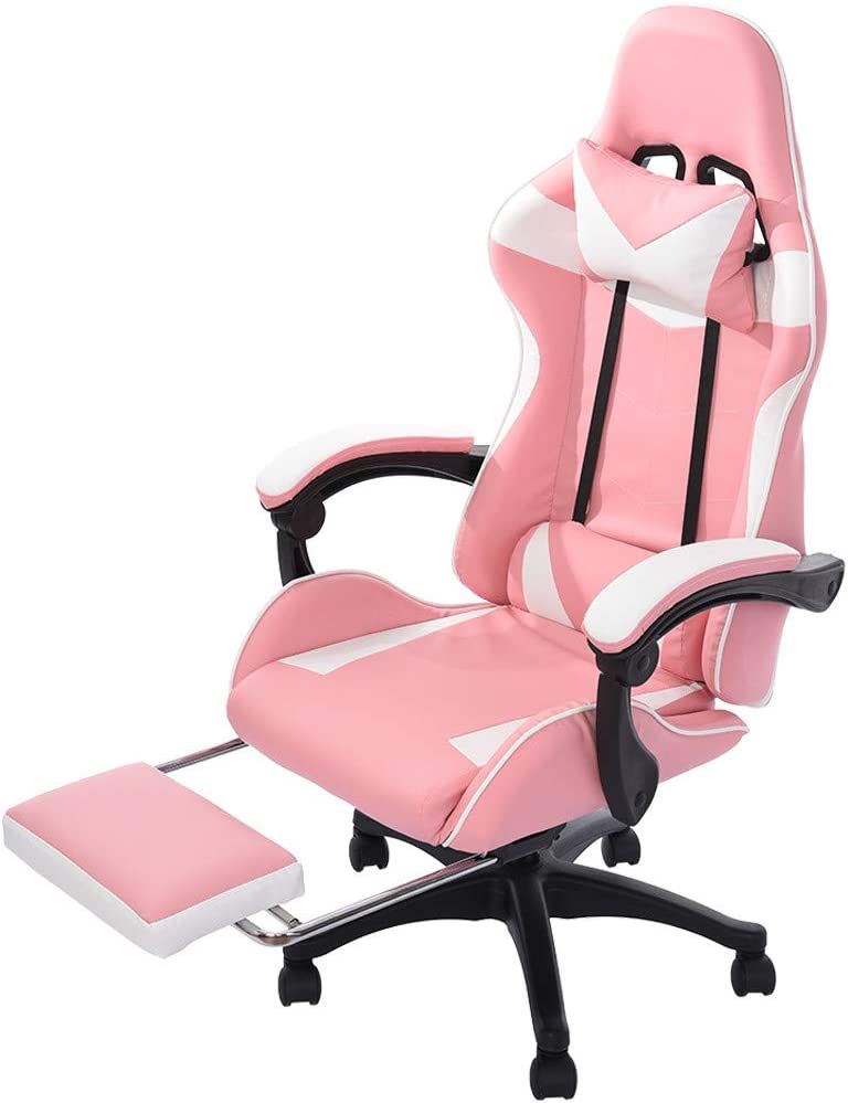 Top 10 Best Pink Gaming Chairs 2021 36