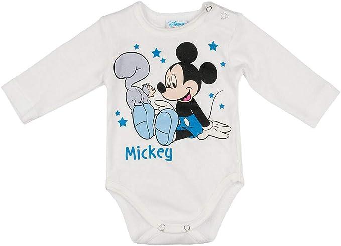 Babybogi Micky Mouse Baby Trainingsanzug Gr/ö/ße 80 86 92 98 2 TLG Sportanzug Disney Jogginganzug f/ür Jungen in hellblau