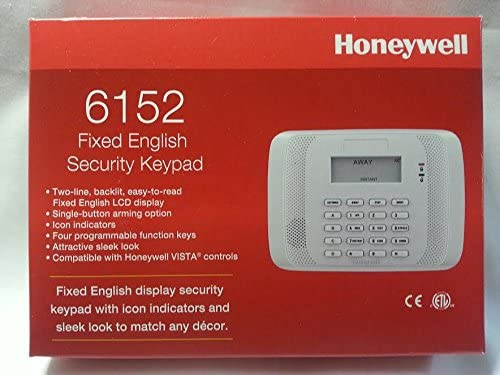Honeywell 6150 LCD Keypad