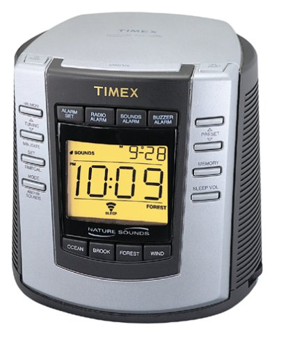 amazon com timex t300b digital tuning clock radio with nature rh amazon com timex indiglo travel alarm clock manual timex indiglo alarm watch instructions