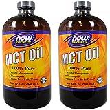 【2個セット】MCTオイル(中鎖脂肪酸トリグリセリド)32オンス 海外直送品