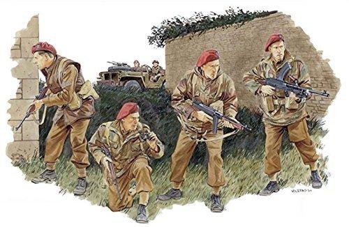 プラッツ社1/ 35第二次世界大戦イギリス陸軍2sas連隊フランス1944プラスチックdr6199