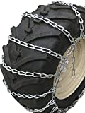 TireChain.com Medium Duty, 2-link Lawn and Garden Tire Chains, Priced per pair. 23 X 9.50 X 12, 23 X 10.50 X 12