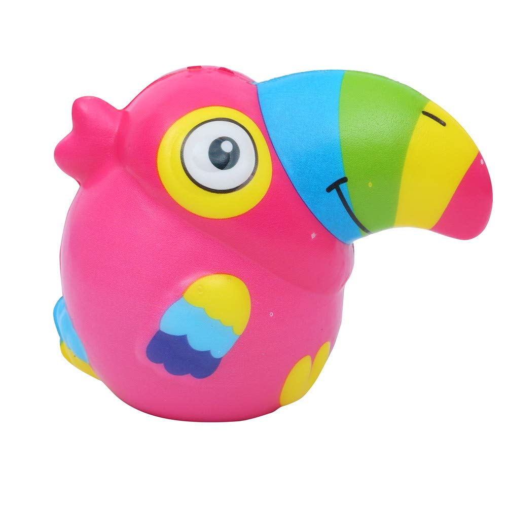 BBTshop 1PCS Squeeze Cute Toucan Scented Slow Rising Decompression Toys