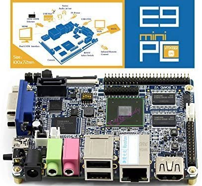 E9-Mini-PC-Pack(B) Freescale i.MX 6 Quad-Core ARM Cortex-A9 procesador de alto rendimiento computadora E9 + Mini PC DVK720 + 17,78 cm pantalla LCD capacitiva + cámara USB WIFI + varios módulos @ XYGStudy: