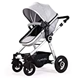 Best All Terrain Strollers - Baby Stroller Bassinet Pram Carriage Stroller - Cyneba Review