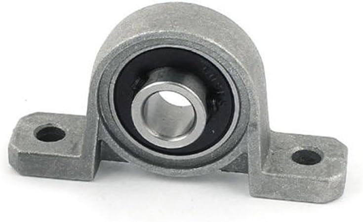 Taglia libera ZAK168/in lega di zinco inserto cuscinetto 8//12/mm foro interno con cuscinetti a sfera cuscino blocco KP08//KP001 8mm