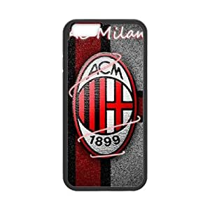 AC Milan iPhone 6 Plus 5.5 Inch Cell Phone Case Black VC929921