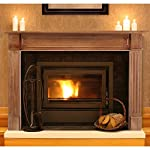 Pearl Mantels Alamo Wood Fireplace Mantel Surround from Pearl Mantels Corporation