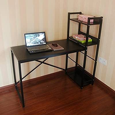 mesa plegable Ajustable Mesa de Trabajo Multifuncional Mesa de Trabajo Mesa de Aprendizaje Mesa de Aprendizaje Dormitorio para Estudiantes Mesa 2 Color Opcional Se Puede Girar (Color : Negro): Amazon.es: Hogar