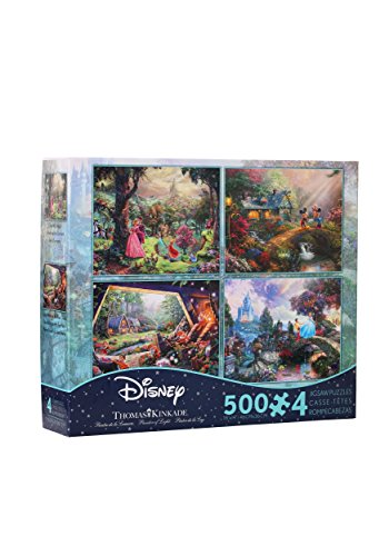 THOMAS KINKADE DISNEY DREAMS COLLECTION MULTI-PACK 4 IN 1 PU