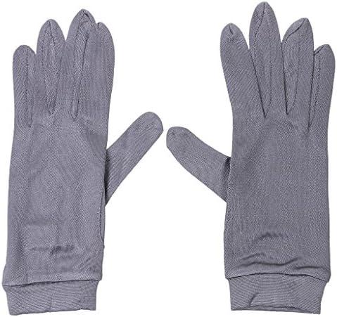 Hellery Womens dunne zijde voering handschoenen thermische fietsen ski sport zwart
