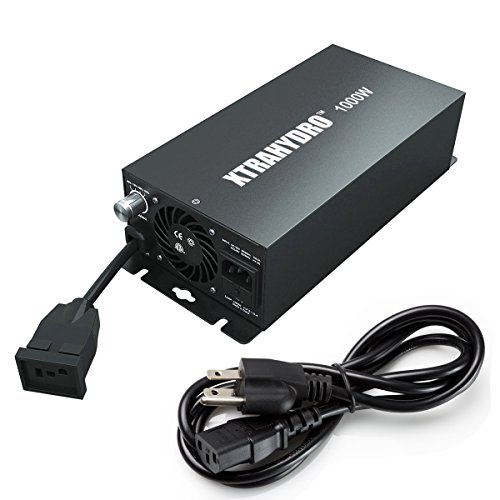 Digital 1000w Ballast, HPS&MH Dimmable Electronic Ballast for Plant Grow Light(1000 Watt)