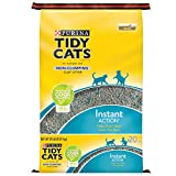 Purina Tidy Cats Non Clumping Cat Litter; Instant Action Low Tracking Cat Litter - 20 lb. Bag