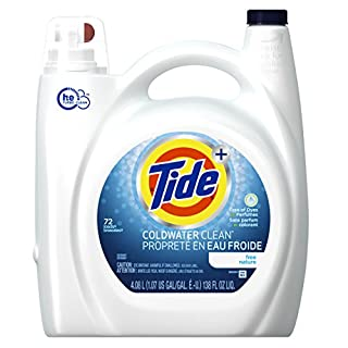 Tide Coldwater Clean Free High Efficiency Liquid Laundry Detergent, 4.08 L (72 Loads) (B00IZUK3S6) | Amazon price tracker / tracking, Amazon price history charts, Amazon price watches, Amazon price drop alerts
