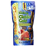 Hikari 12-Ounce Sinking Cichlid Gold Pellets for Pets, Medium...