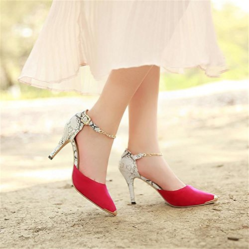 Party Women's Toe Evening Shoes Toe for amp; 40 Open Heels Dress Size Color Summer Pointed Stilettos Heels Sexy A rR7qHvw6r