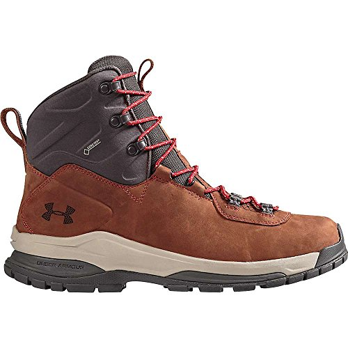 (Under Armour Noorvik GTX Boot - Men's Tundra/Charcoal/Red 9)